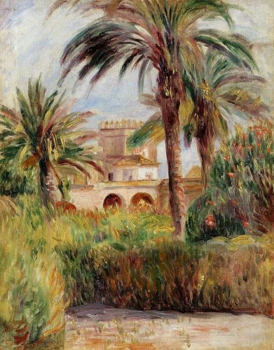 The Test Garden in Algiers, 1882 by Pierre-Auguste Renoir