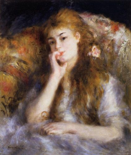 The Thinker, 1877 by Pierre-Auguste Renoir