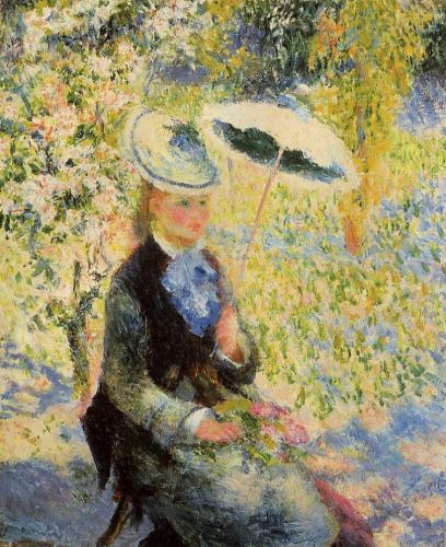The Umbrella, 1878 by Pierre-Auguste Renoir