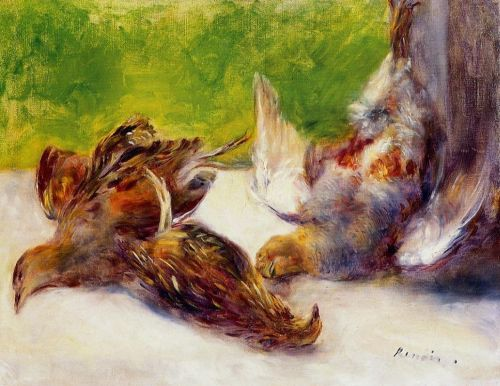 Three Partrides, 1880 by Pierre-Auguste Renoir