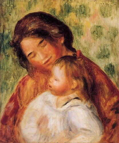 Woman and Child by Pierre-Auguste Renoir