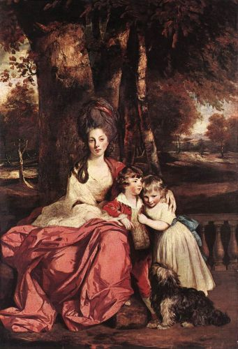Lady Delmé and her Children by Sir Joshua Reynolds