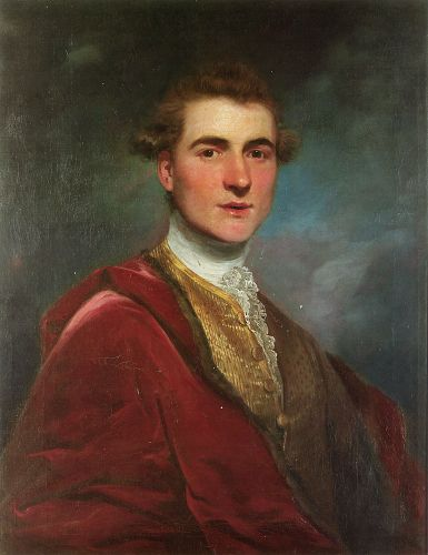 Portrait of Charles Hamilton by Sir Joshua Reynolds