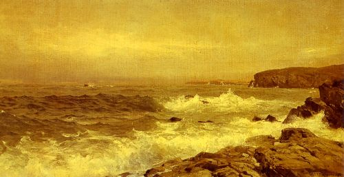 Rocky Sea Coast by William Trost Richards