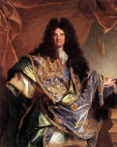 Portrait of Phillippe de Couraillon by Hyacinthe Rigaud