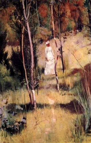 A Summer Morning Tiff by Tom Roberts
