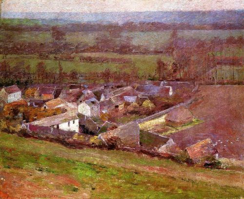 Bird's Eye View: Giverny by Theodore Robinson