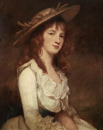 Miss Constable by George Romney