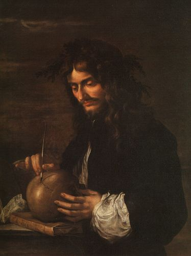 Self-Portrait by Salvator Rosa