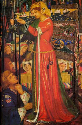 Before the Battle by Dante Gabriel Rossetti