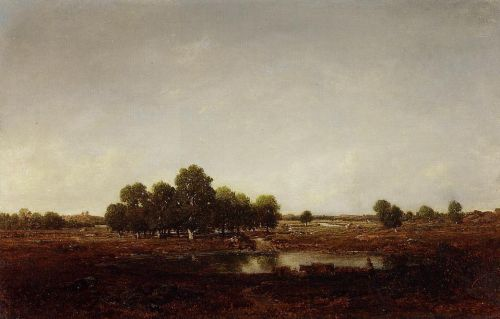 Marsh Land by Théodore Rousseau