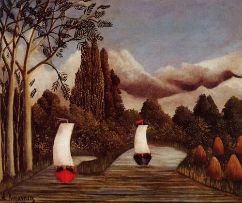 The Banks of the Oise by Henri Le Douanier Rousseau