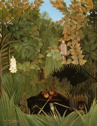 The Merry Jesters by Henri Le Douanier Rousseau