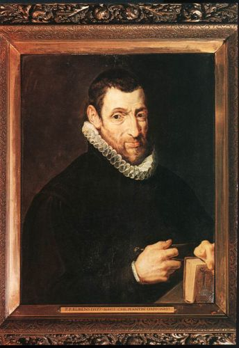 Christoffel Plantin by Peter Paul Rubens