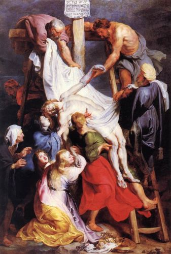 Descent from the Cross by Peter Paul Rubens