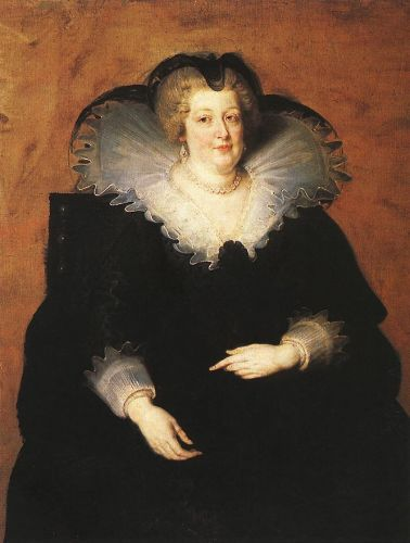Marie de Médici, Queen of France by Peter Paul Rubens