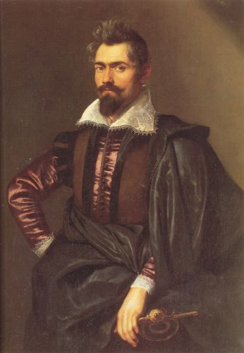 Portrait of Gaspard Schoppins by Peter Paul Rubens
