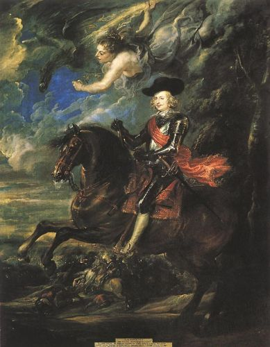 The Cardinal Infante by Peter Paul Rubens
