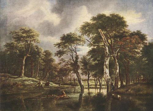 The Hunt by Jacob Isaakszoon van Ruysdael