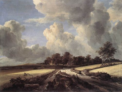 Wheat Fields by Jacob Isaakszoon van Ruysdael