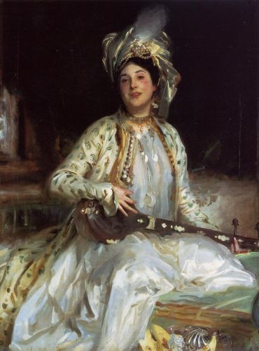 Almina, Daughter of Asher Wertheimer by John Singer Sargent