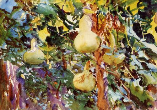 Gourds by John Singer Sargent