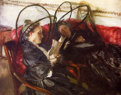 Mosquito Nets by John Singer Sargent