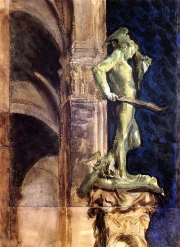 Perseus by Night by John Singer Sargent