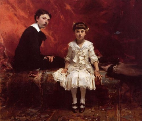 Portrait of Edouard and Marie-Louise Pailleron by John Singer Sargent