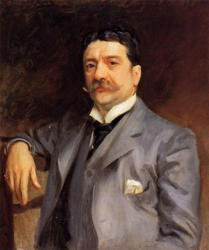 Portrait of Louis Alexander Fagan by John Singer Sargent