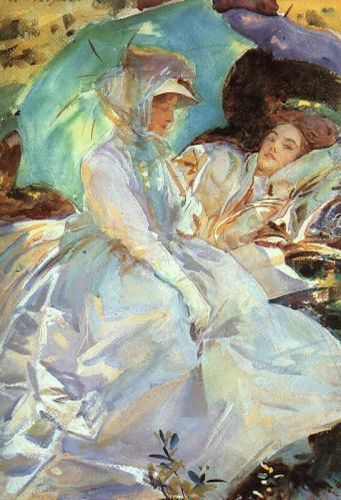 Reading by John Singer Sargent