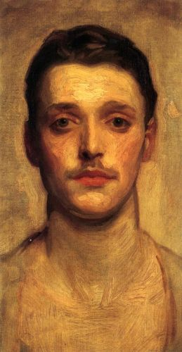 Study of a Young Man by John Singer Sargent