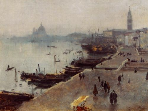 Venice in Gray Weather by John Singer Sargent