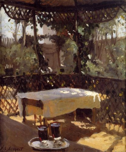 Wineglass by John Singer Sargent
