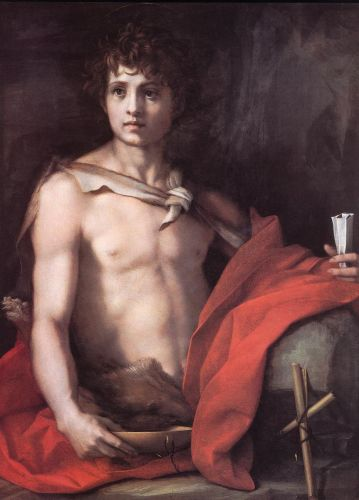 St John the Baptist by Andrea del Sarto