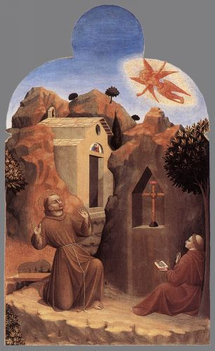The Stigmatisation of St Francis by Stefano di Giovanni Sassetta