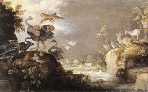 Landscape with Animals by Roelant Savery