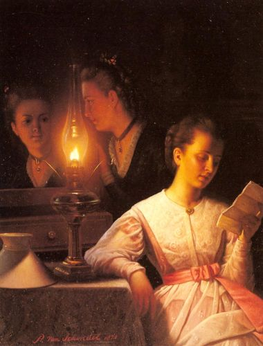 The Letter by Petrus van Schendel