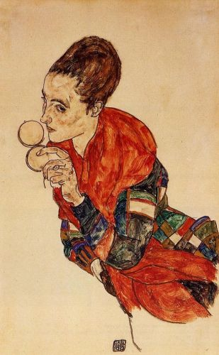 Portrait of the Actress Marge Boerner by Egon Schiele
