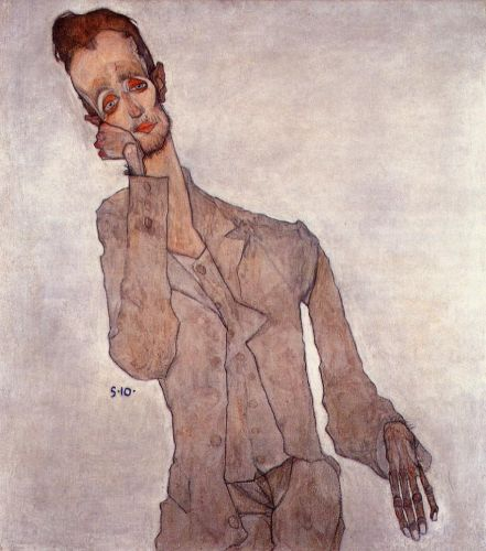 Portrait of the Painter Karl Zakovsek by Egon Schiele