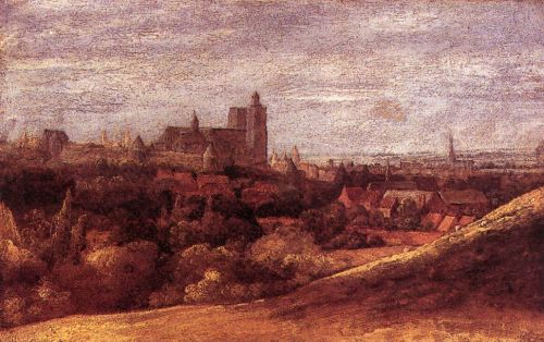 View of Brussels from the North-East by Hercules Seghers