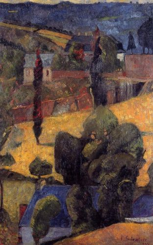 Landscape by Paul Sérusier