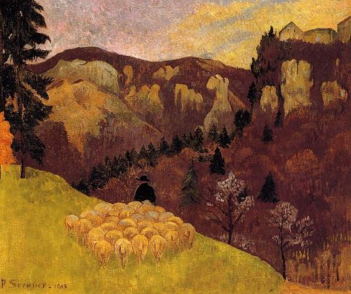 The Flock in the Black Forest by Paul Sérusier