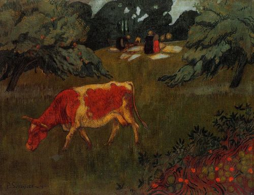 The Wash in a Large Meadow by Paul Sérusier
