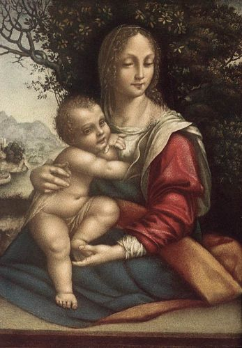 Madonna and Child by Cesare da Sesto
