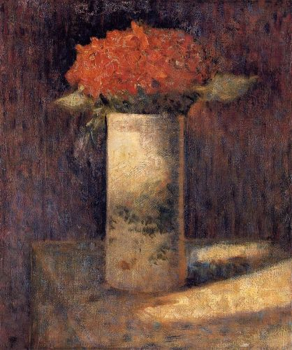 Boquet in a Vase by Georges Seurat