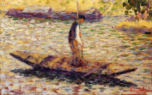 Fisherman by Georges Seurat