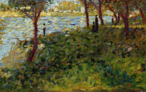 La Grande Jatte: Landscape with Figures by Georges Seurat