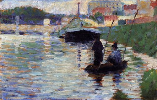 The Bridge: View of the Seine by Georges Seurat
