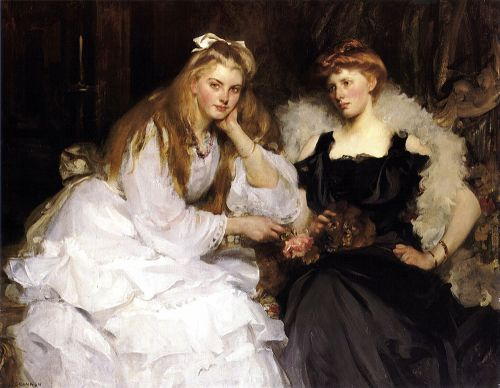 Portrait of a Ladies by Sir James Jebusa Shannon
